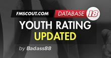 Youth Rating Updated in FM18