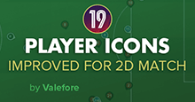 Player Icons for 2D Match FM19