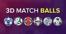 3D Match Balls for FM19