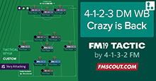 FM19 Tactic: Crazy Is Back