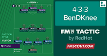 FM19 BenDKnee Attacking Possession