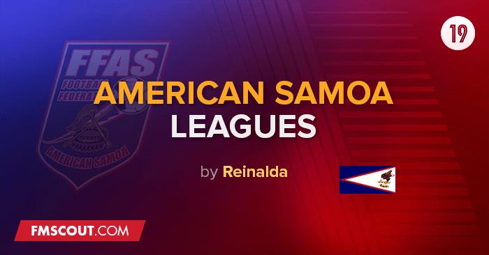 Ligas da Samoa Americana & Taças para o FM 2019