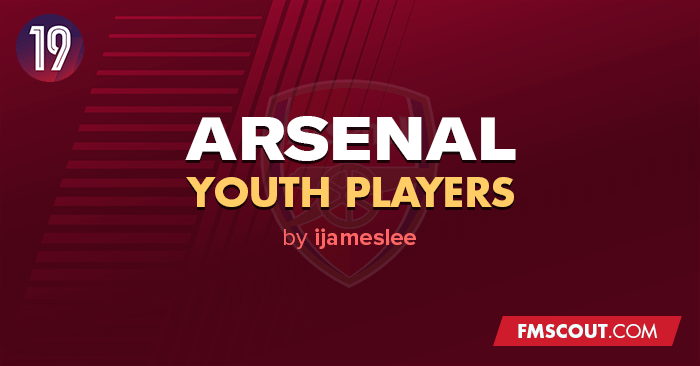Football Manager 2019 Data Updates - Arsenal Youth
