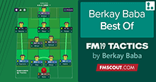Berkay Baba Best of FM19 Tactics