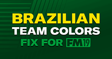 Brazilian Team Colors Fix for FM19