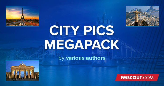 FM 2019 Misc Graphics - Cities Megapack for FM 2019