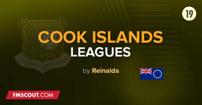 Liga das Ilhas Cook & Taças para o FM 2019