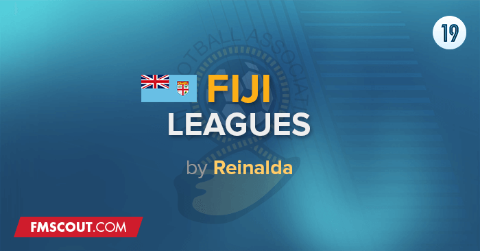Football Manager 2019 League Updates - Fiji Leagues by Reinalda