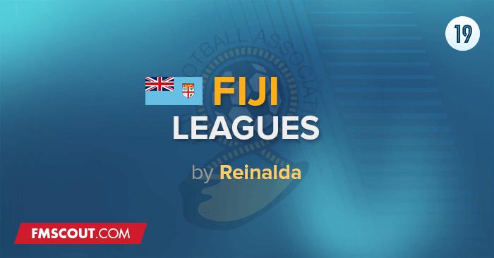 Ligas Fiji & Taças para o FM 2019