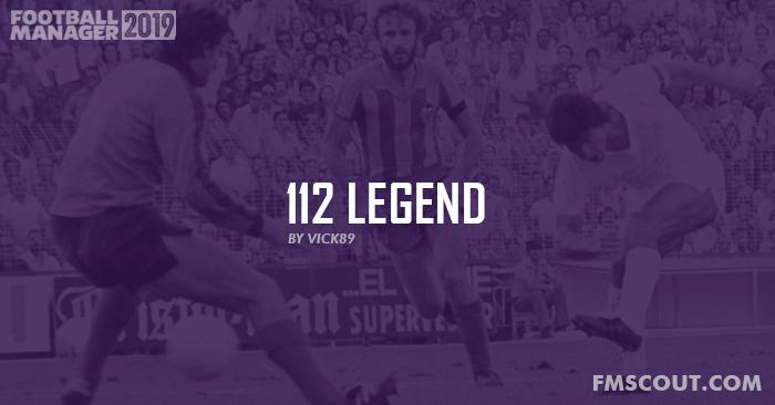 Football Manager 2019 Data Updates - 112 Legend