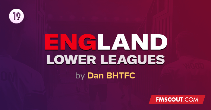 Football Manager 2019 League Updates - FM 2019 England Lower Leagues to Level 13
