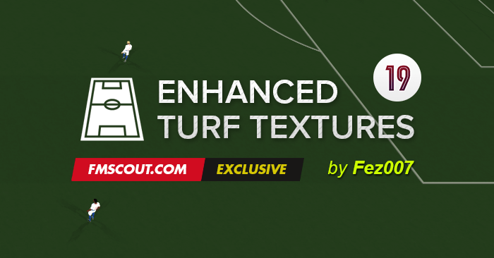 FM 2019 Misc Graphics - Fez's Enhanced Turf Textures FM19