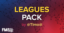 FM19 Leagues Pack (88 Nations) by @Timo@