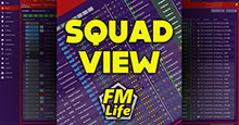 Squad View for FM19 by FM-Life
