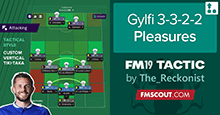 FM19 Tactic: Gylfi Pleasures 3-3-2-2 by The Reckonist