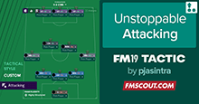 Unstoppable Attacking for FM19 by pjasintra