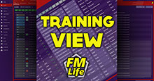 Training View for FM19 by FM-Life