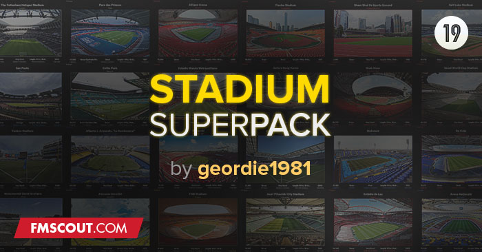 FM 2020 Misc Graphics - FMT Stadium Superpack vFM20.1