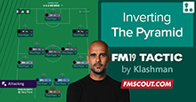 Guardiola FM19 Tactic - Inverting the Pyramid CTW