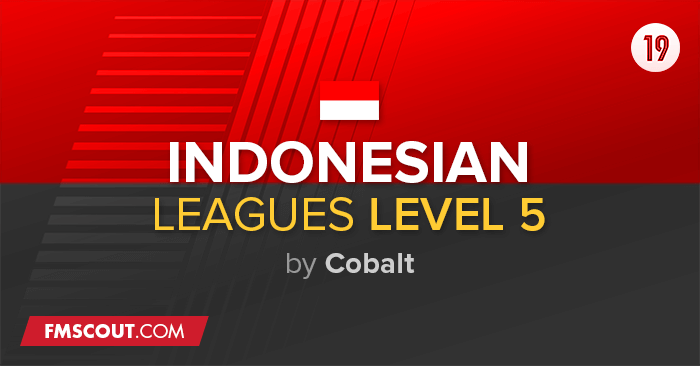 Football Manager 2019 League Updates - Indonesia Leagues Level 5 FM19 Update Transfer (25/5) + Add On