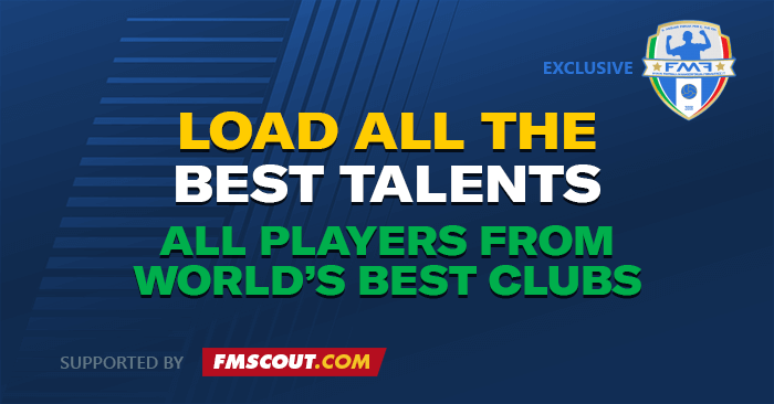 Football Manager 2019 Data Updates - FM19 DDT: Load The Best Talents