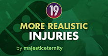 More Realistic Injuries for FM19