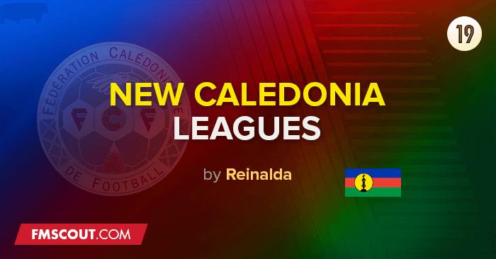 Ligas da Nova Caledónia & Taças para o FM 2019