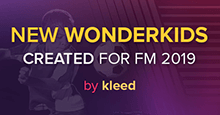 New Wonderkids created for FM 2019 V5