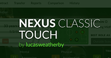 Nexus Classic skin for FM Touch 2019