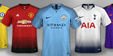 English Leagues Kits Megapack 2018/19