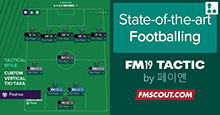 FM19 Tactic: 2-3-5 State-of-the-art Footballing