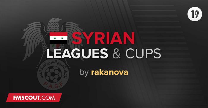 Ligas Sírias & Taças para o FM 2019