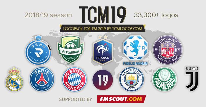 TCM19 Logopack by TCMLogos.com