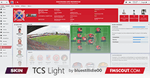 FM19 Skin: TCS'19 Light Version