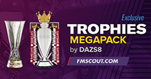 Football Manager 2019 Trophies Megapack