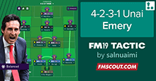 4-2-3-1 Unai Emery Tactics - SMS Edition