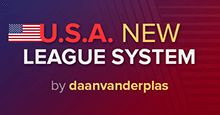 USA New League Structure FM19