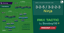 3-2-5/3-2-2-3 Ninja Tactics for FM20