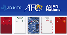 Asian Nations 3D Kits for FM20