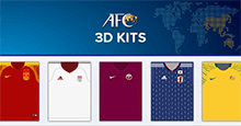 3D Kits: Asian Football Confederation 2019