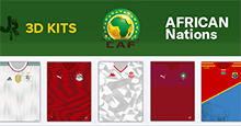 Africa Nations 3D Kits for FM20/21