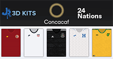 CONCACAF Nations 3D Kits for FM20
