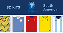 3D Kits CONMEBOL: South American National Teams 2019