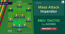 FM20 Tactic: Mass Attack Imperator by AD1990