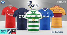CPv Scottish Premiership Kits 2019/20
