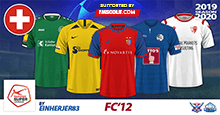 FC'12 Switzerland – SuperLeague 2019/20