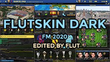 FM 2020 FLUT skin dark - Version 1.1