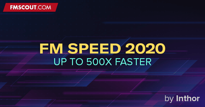 Football Manager 2020 Tools - FM Speed 2020