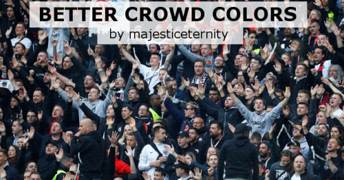 Football Manager 2021 Data Updates - FM21 Better Crowd Colors