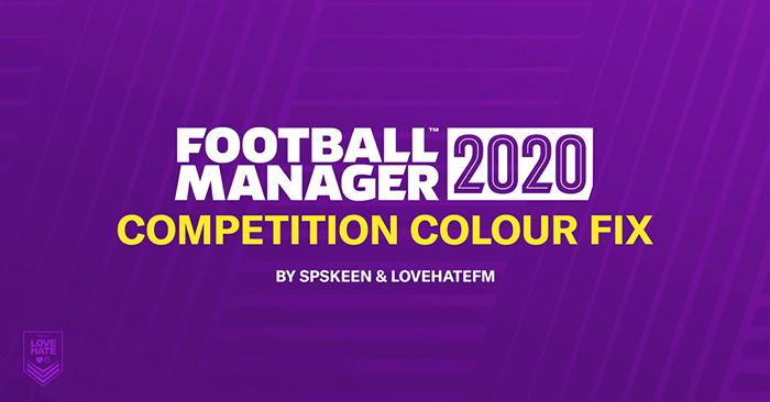 Competition Colour Fix